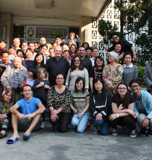 Taipei (Taiwan), 2016. Photo de groupe de la communauté.